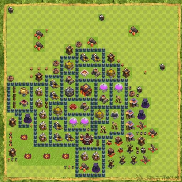 Base War Coc Th 10 Terbaru 12