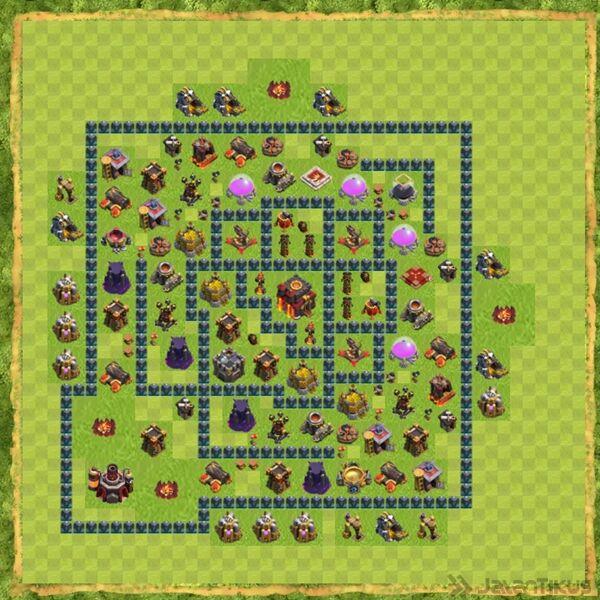 Base War Coc Th 10 Terbaru 14