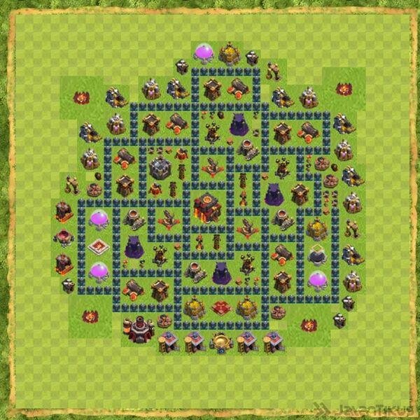 Base War Coc Th 10 Terbaru 16