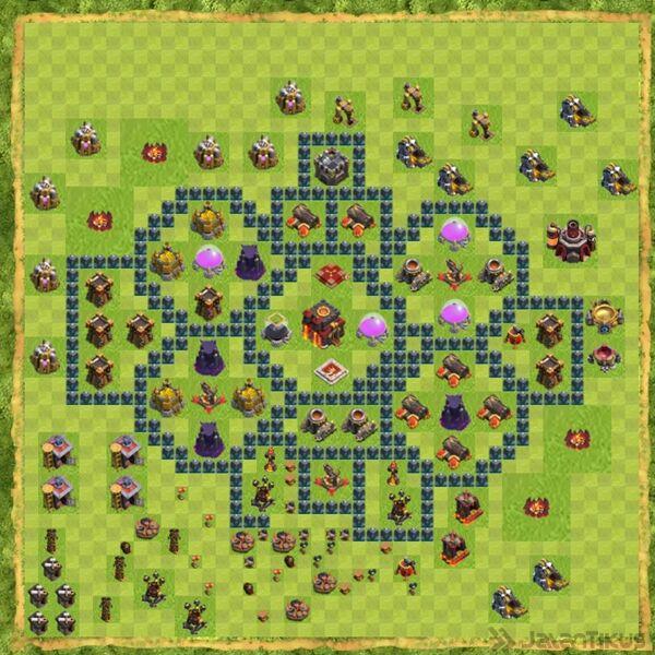 Base War Coc Th 10 Terbaru 17