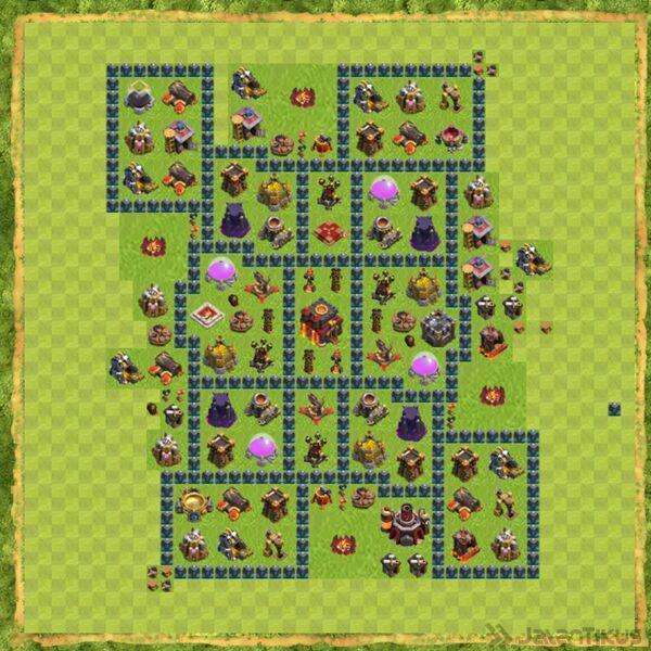 Base War Coc Th 10 Terbaru 18