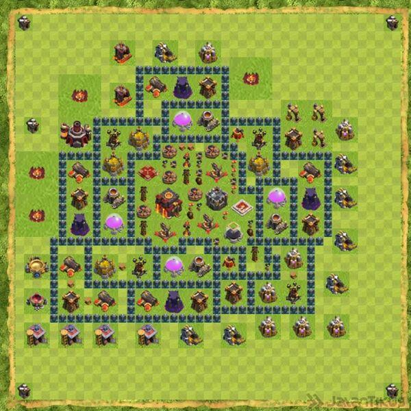 Base War Coc Th 10 Terbaru 19
