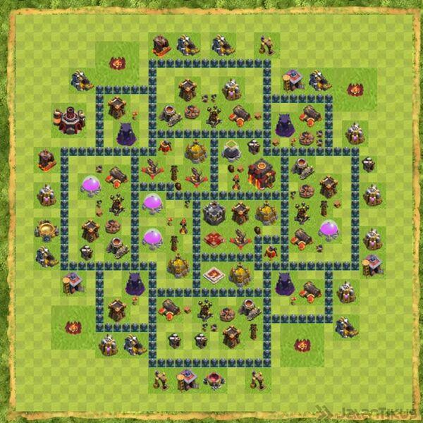 Base War Coc Th 10 Terbaru 20