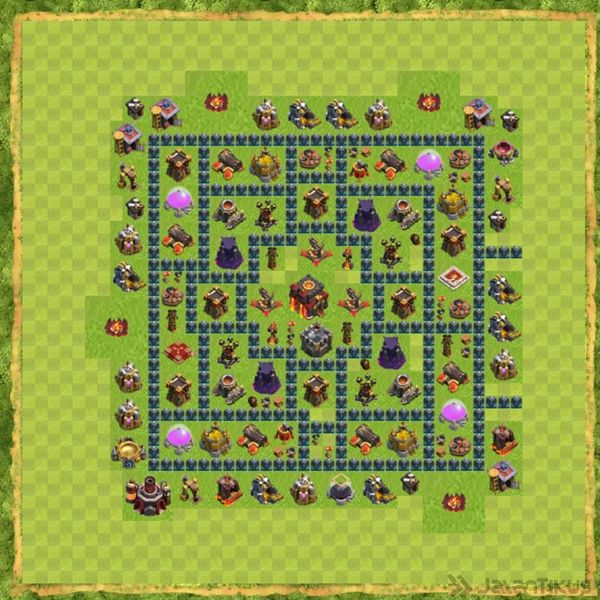 Base War Coc Th 10 Terbaru 22