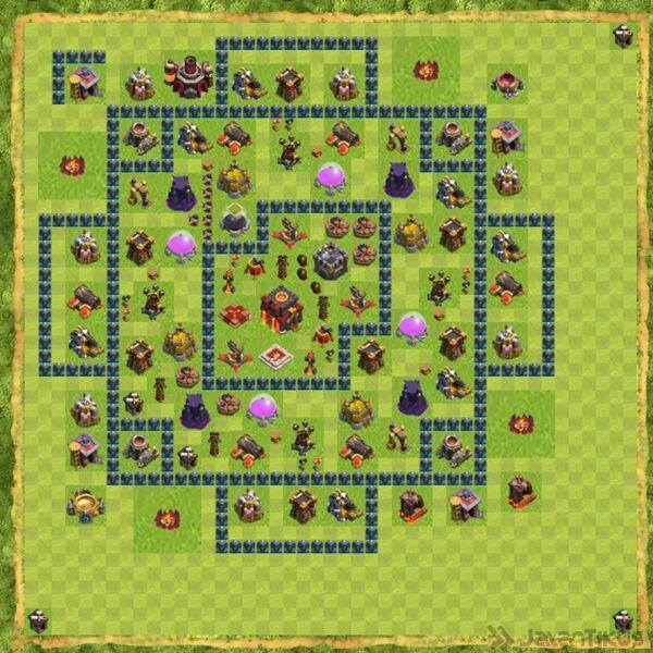 Base War Coc Th 10 Terbaru 23