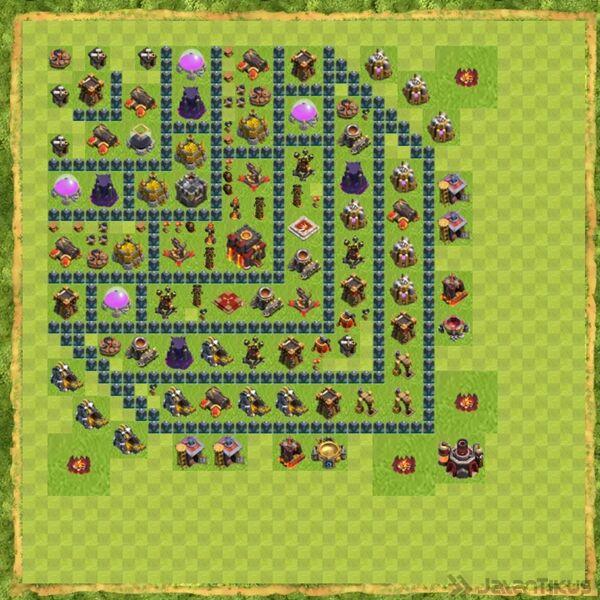 Base War Coc Th 10 Terbaru 3