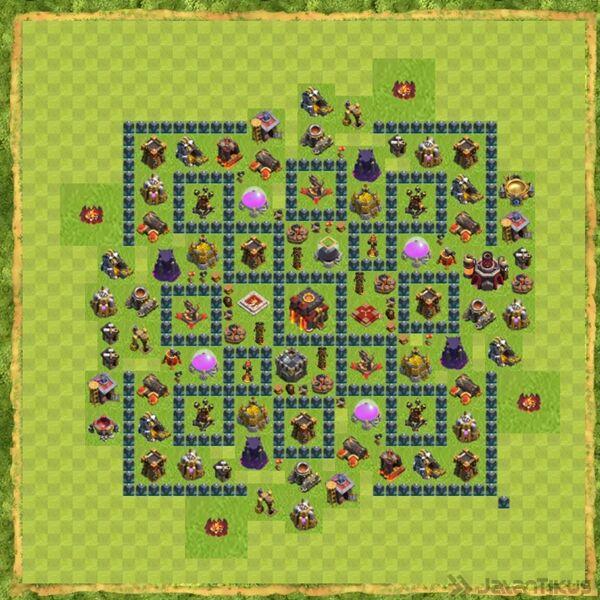 Base War Coc Th 10 Terbaru 4