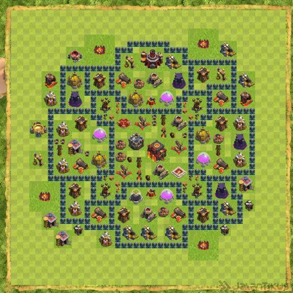 Base War Coc Th 10 Terbaru 7