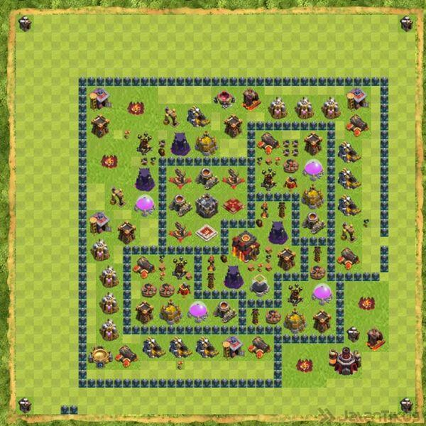 Base War Coc Th 10 Terbaru 8
