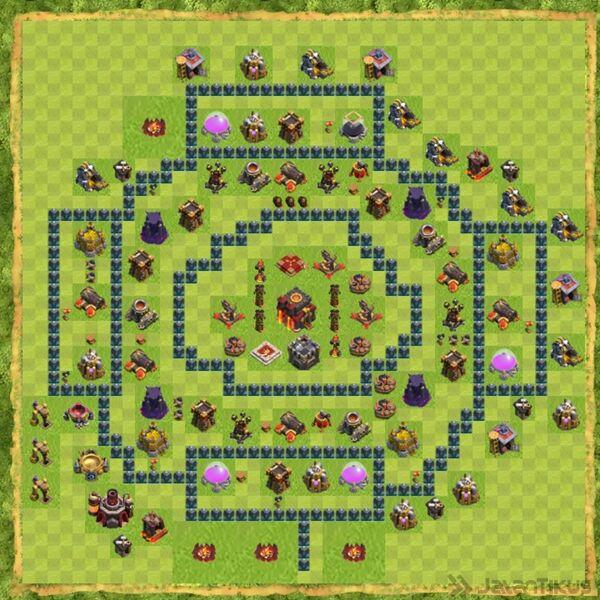 Base War Coc Th 10 Terbaru 9
