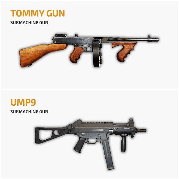 Sub Manchine Gun 3c872