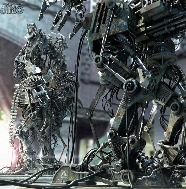 Karya Seni Robot 29