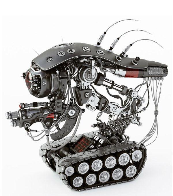 Karya Seni Robot 16