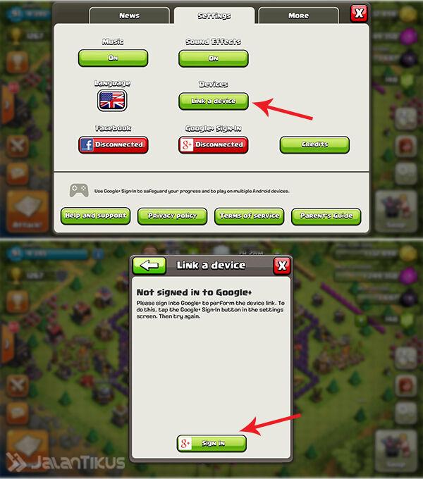 Cara Memainkan Banyak Akun Clash Of Clans Di Satu Android 2