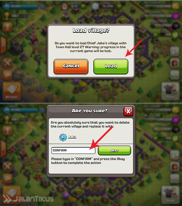 Cara Memainkan Banyak Akun Clash Of Clans Di Satu Android 4