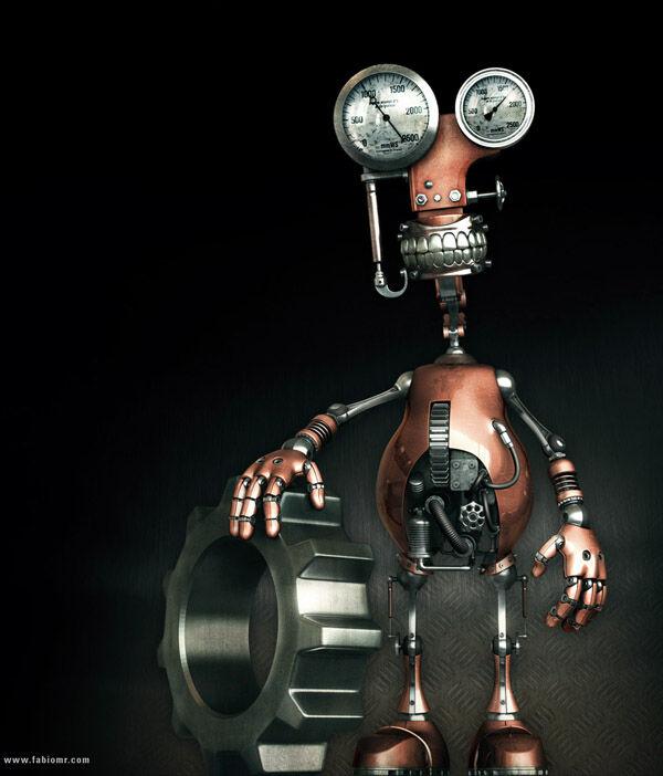 Karya Seni Robot 19