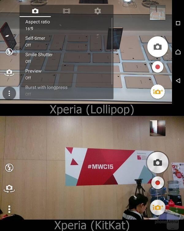 Perbandingan Android Lollipop Vs Kitkat Pada Sony Xperia 12
