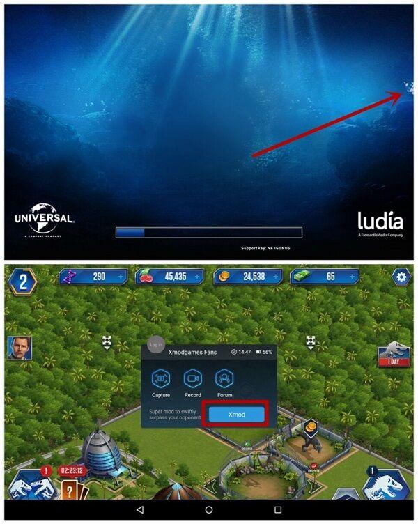 Mod Jurassic World Xmodgames 2