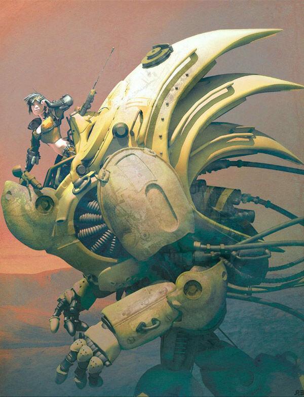 Karya Seni Robot 24