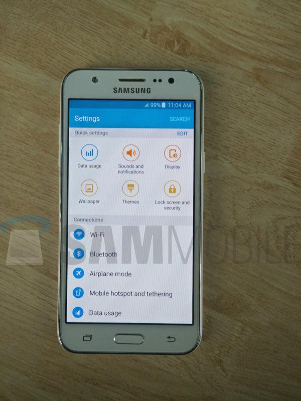 Foto Bocoran Spesifikasi Samsung Galaxy J5 4