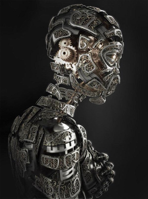 Karya Seni Robot 7