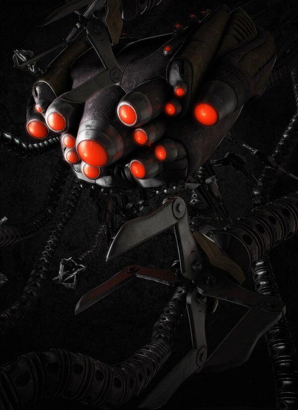 Karya Seni Robot 18