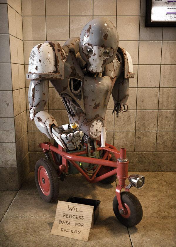 Karya Seni Robot 27