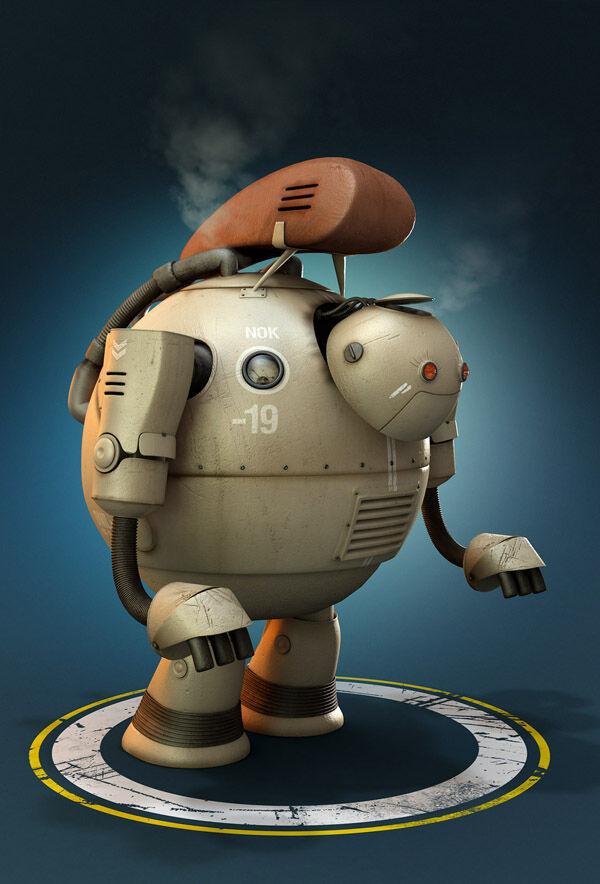 Karya Seni Robot 2