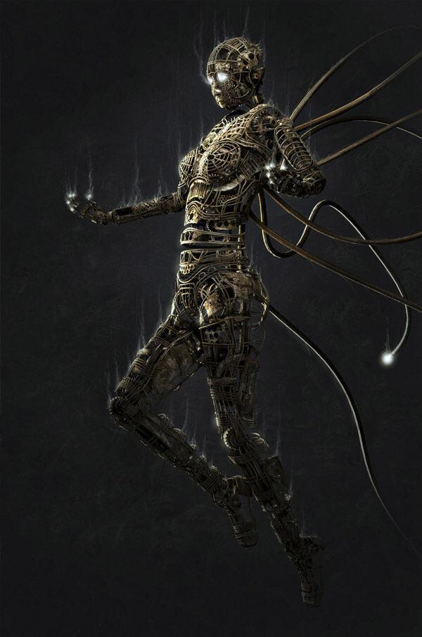 Karya Seni Robot 26