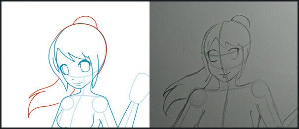 Tutorial Cara Mudah Menggambar Anime Bagi Pemula Jalantikuscom