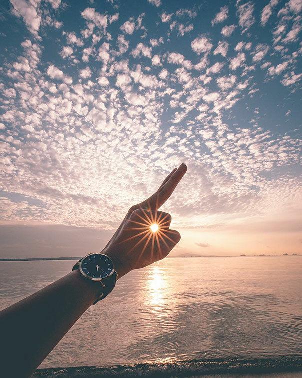 Menangkap Sunrise