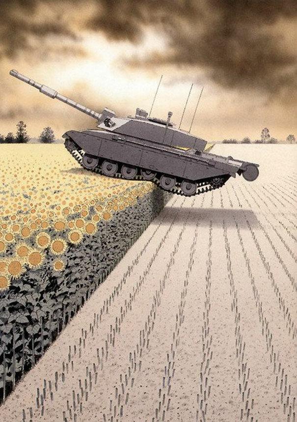 Perang Hanya Menimbulkan Kerusakan