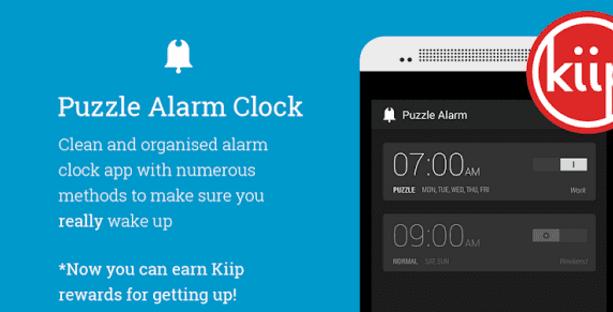 Puzzle Alarm Clock Banner