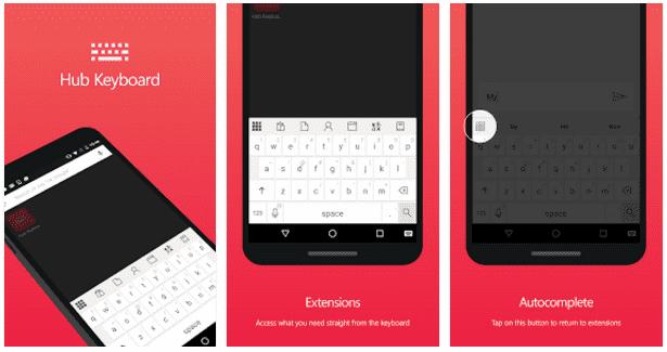 Aplikasi Keyboard Emoji Hub