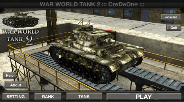 Game Tank Di Android