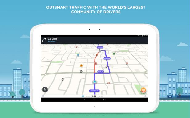 Peta Terbaru Waze