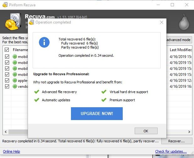 Cara Mengembalikan File Yang Terhapus Di Flashdisk F 259ec
