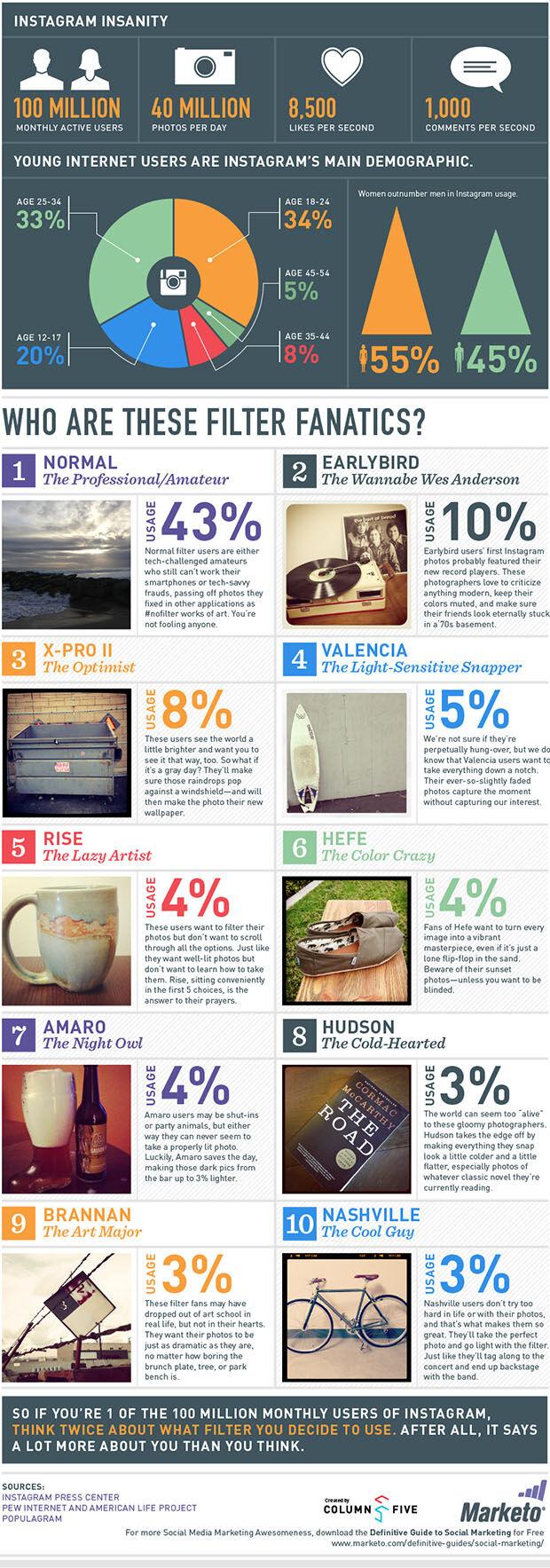 Statistik Pengguna Instagram