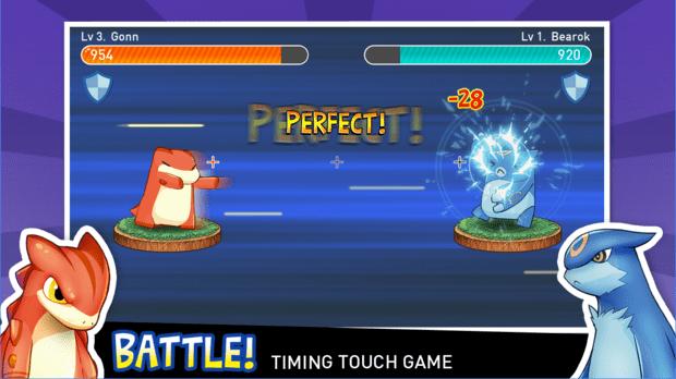 Tap Tap Monster Game Pokemon