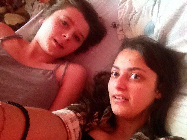 Foto Selfie Laba Laba 2