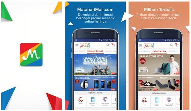 Download Aplikasi Mataharimall
