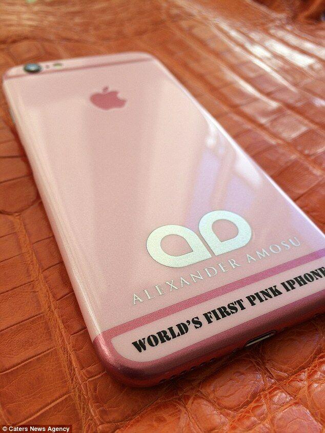 Menjelang Valentine Iphone 6 Pink Pertama Di Dunia Ini Dijual Rp 35 Juta 1
