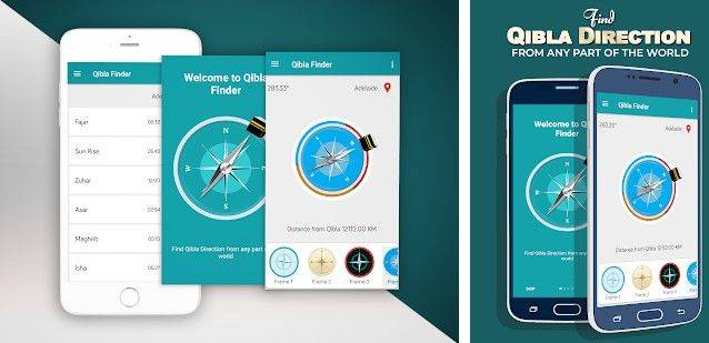 Aplikasi Find Qibla Direction 843d4