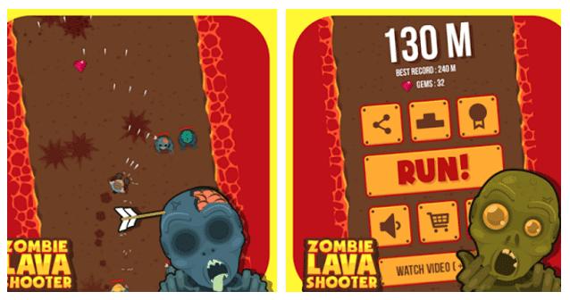 Zombie Lava Runner Apk Free Full