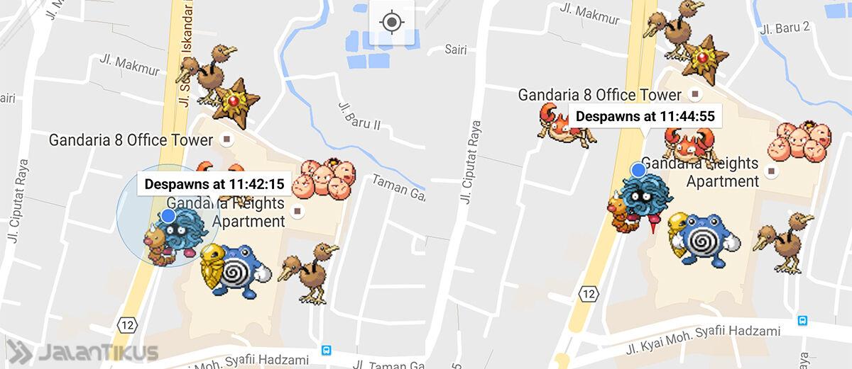 Cara Mengetahui Lokasi Pokemon Secara Akurat
