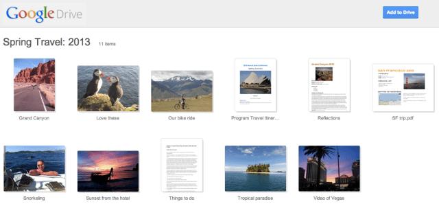 Google Drive Update Tampilan Shared Folder