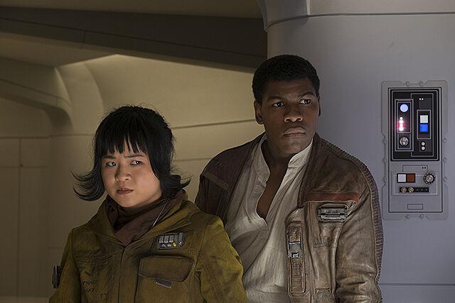 Finn Rose The Last Jedi