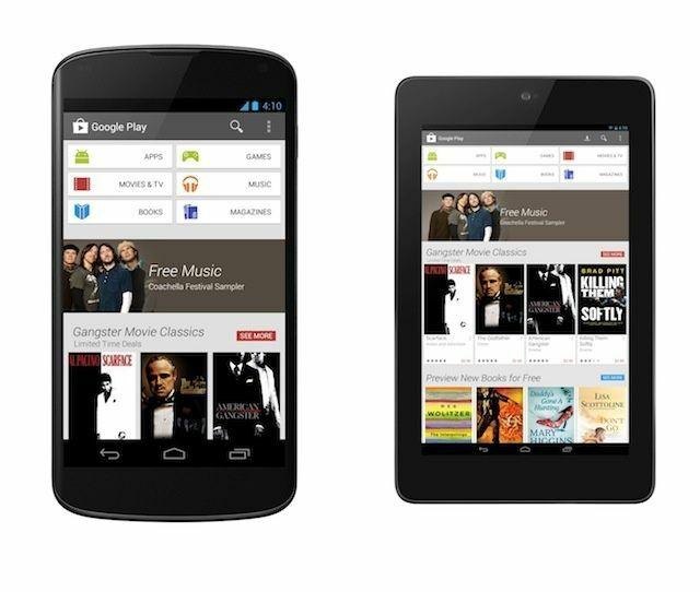 Google Play Store Tampilan Versi Baru