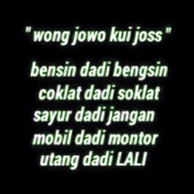 Kata Kata Lucu Bahasa Jawa Timur