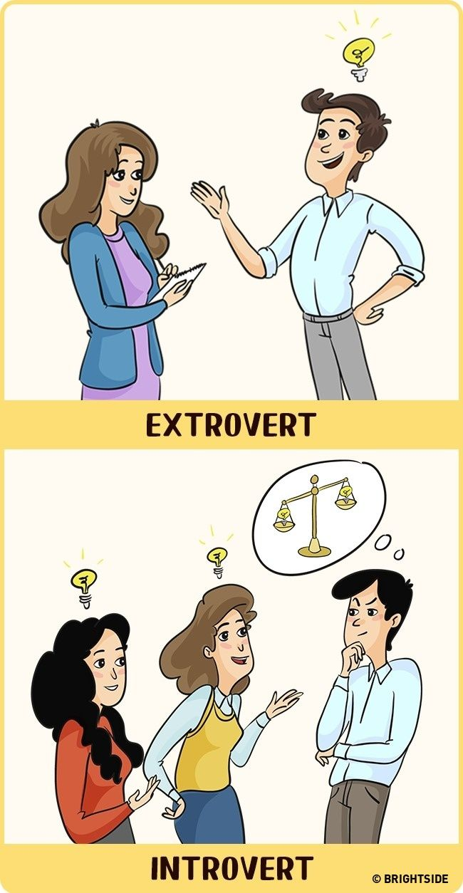 Perbandingan Introvert Dan Ekstrovert 7